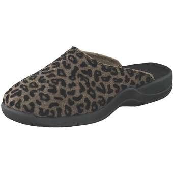 Rohde Vaasa Hausschuhe Damen braun   Schuhe > Hausschuhe   Rohde