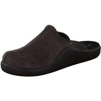 Romika Präsident 445 - Hausschuh Herren schwarz   Schuhe > Hausschuhe   ROMIKA
