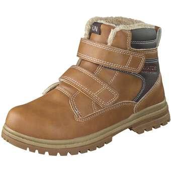 - Run Lifewear Klett Boot Jungen braun - Onlineshop Schuhcenter