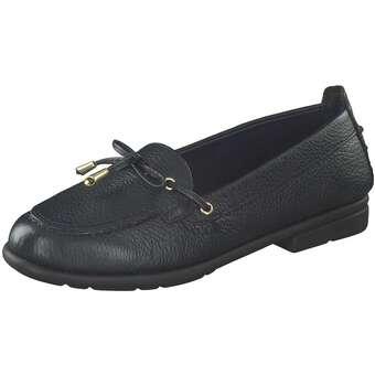 Saydo Basic Kick N RUN Mokassin Damen blau | Schuhe > Mokassins | Blau | Leder | Saydo Basic