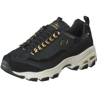 Skechers D Lites Golden Idea Damen schwarz | Schuhe > Sneaker > Plateau Sneaker | Skechers