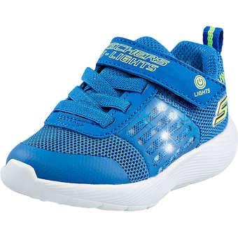 Minigirlschuhe - Skechers Dyna Lights Mädchen blau - Onlineshop Schuhcenter
