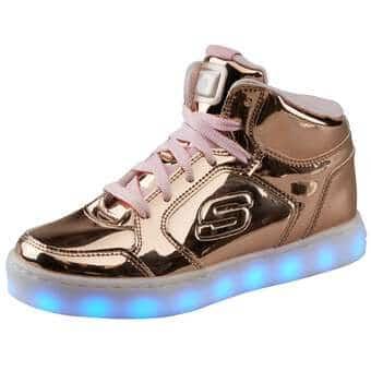 Skechers Energy Lights Dance N Dazzle gold