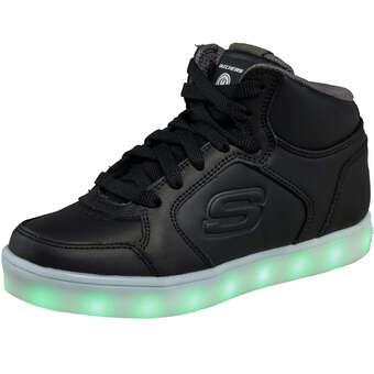 Skechers Energy Lights Sneaker High schwarz