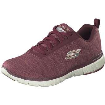 Sportschuhe für Frauen - Skechers Flex Appeal 3.0 Insiders Damen rot  - Onlineshop Schuhcenter