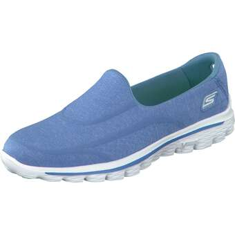 Skechers Go Walk 2 Super Sock blau