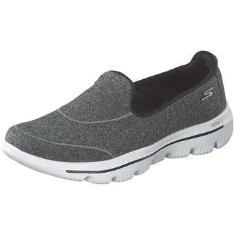 Sportschuhe für Frauen - Skechers Go Walk Evolution Ultra Damen grau  - Onlineshop Schuhcenter