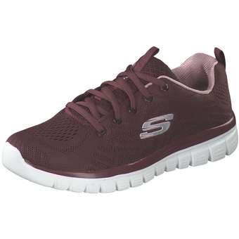 Sportschuhe für Frauen - Skechers Graceful Get Connected Damen rot  - Onlineshop Schuhcenter