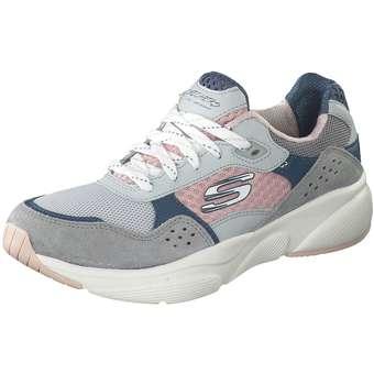 Sportschuhe für Frauen - Skechers Meridian Charted Sneaker Damen grau  - Onlineshop Schuhcenter