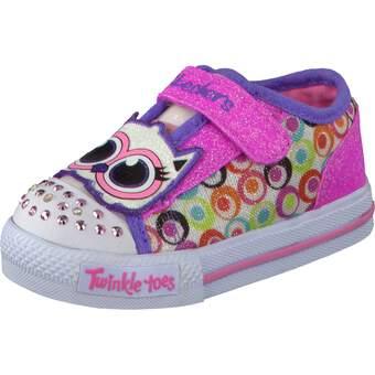 Skechers Twinkle Toes Shuffle weiß