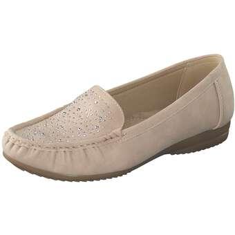 smiling for feet Mokassin Damen rosa
