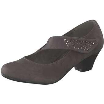 smiling for feet Spangenpumps Damen grau