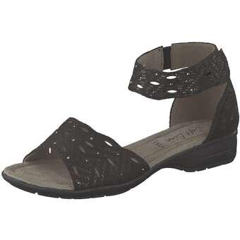 Softline - Sandale Fersenkappe - schwarz