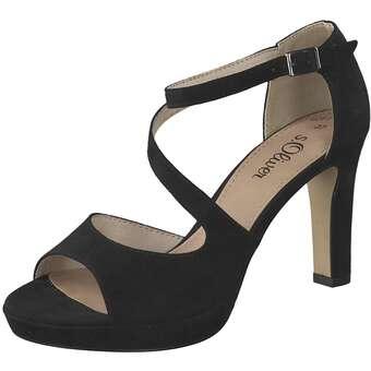 Sandalen für Frauen - s.Oliver Sandale Damen schwarz  - Onlineshop Schuhcenter