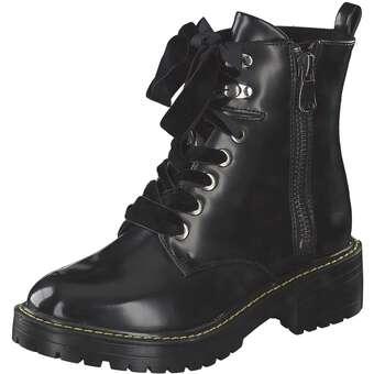 s.Oliver Schnür Boots schwarz