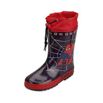 Spiderman Gummistiefel navy