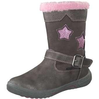 - Puccetti Stiefel Mädchen braun - Onlineshop Schuhcenter