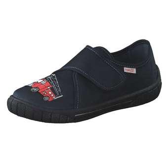 - Superfit Bill Hausschuhe Jungen blau - Onlineshop Schuhcenter