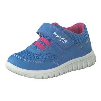 Minigirlschuhe - Superfit Sport 7 Mädchen blau - Onlineshop Schuhcenter