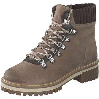 Tamaris Schnür Boots Damen braun   04059253705732