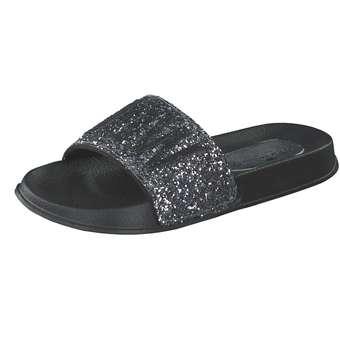 - Tom Tailor Pantolette Mädchen silber - Onlineshop Schuhcenter