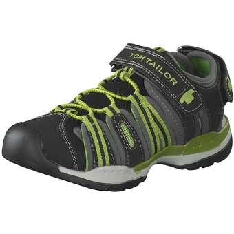 Tom Tailor Sandale Jungen schwarz   04058219624933