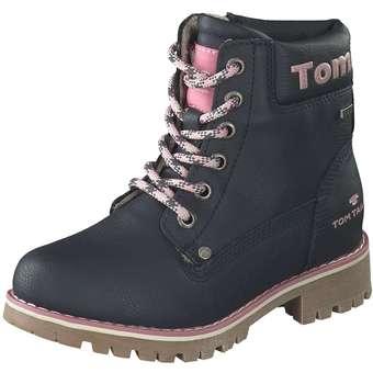 new style f9de4 9d300 Tom Tailor - Schnür Boots - blau