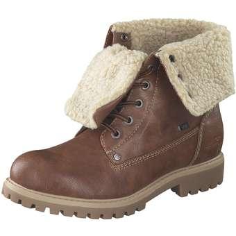 Tom Tailor Schnür Boots Damen braun | Schuhe > Boots | Tom Tailor