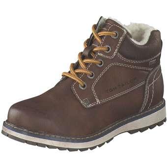 - Tom Tailor Schnür Boots Jungen braun - Onlineshop Schuhcenter