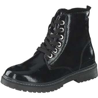 Tom Tailor Schnür Boots Mädchen schwarz
