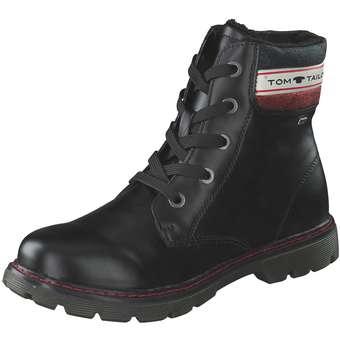 - Tom Tailor Schnür Boots Mädchen schwarz - Onlineshop Schuhcenter