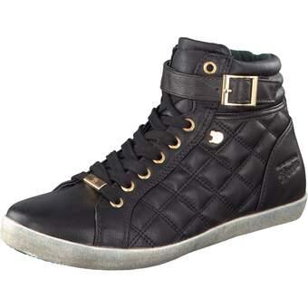 Tom Tailor Schnür-Sneaker schwarz