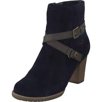 Tom Tailor Stiefelette navy