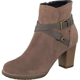 Tom Tailor Stiefelette sandbraun