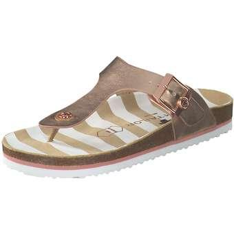 Sandalen für Frauen - Tom Tailor Zehentrenner Damen rosa  - Onlineshop Schuhcenter