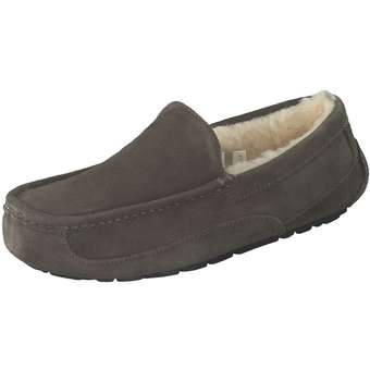 UGG Ascot Hausschuhe Herren grau   Schuhe > Hausschuhe   Ugg