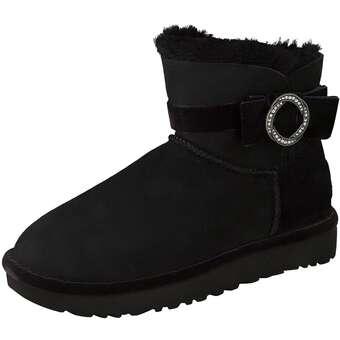 UGG Boots - KARLIE BROOCH schwarz