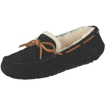 UGG Dakota Hausschuhe Damen schwarz | Schuhe > Hausschuhe > Klassische Hausschuhe | Ugg
