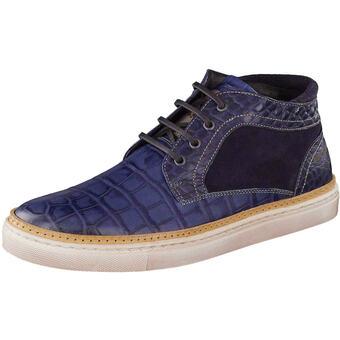 Floris van Bommel High Sneaker blau