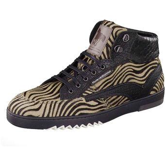 Floris van Bommel High Sneaker braun