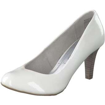 Pumps für Frauen - Via della Rosa Pumps Damen weiß  - Onlineshop Schuhcenter