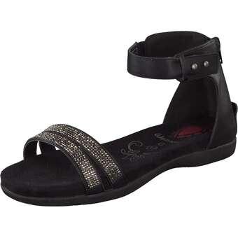 Wellness Sandale schwarz