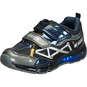 Geox J Android Klett-Sneaker  schwarz