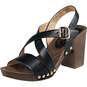 Inspired Sandale  schwarz
