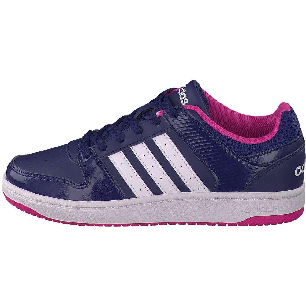 adidas damen vs hoopster w in pink reduziert bei. Black Bedroom Furniture Sets. Home Design Ideas