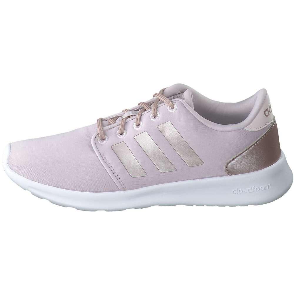 adidas schuhe adidas CF QT Racer W Sneaker rose Textil