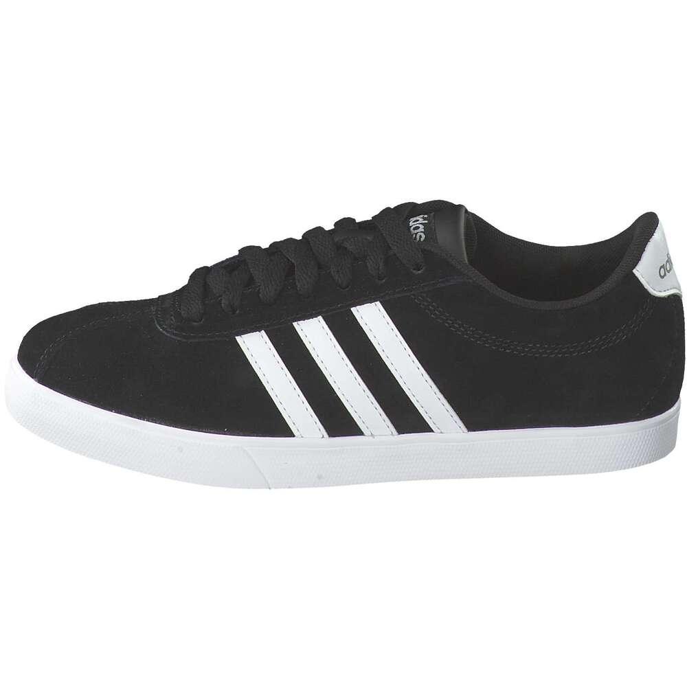 adidas - Courtset Sneaker - schwarz ❤️   Schuhcenter.de
