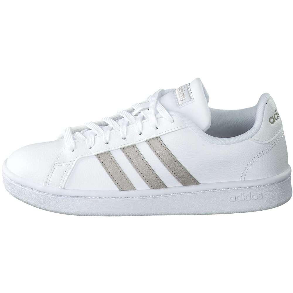 adidas Grand Court Sneaker weiß klassischer Damen
