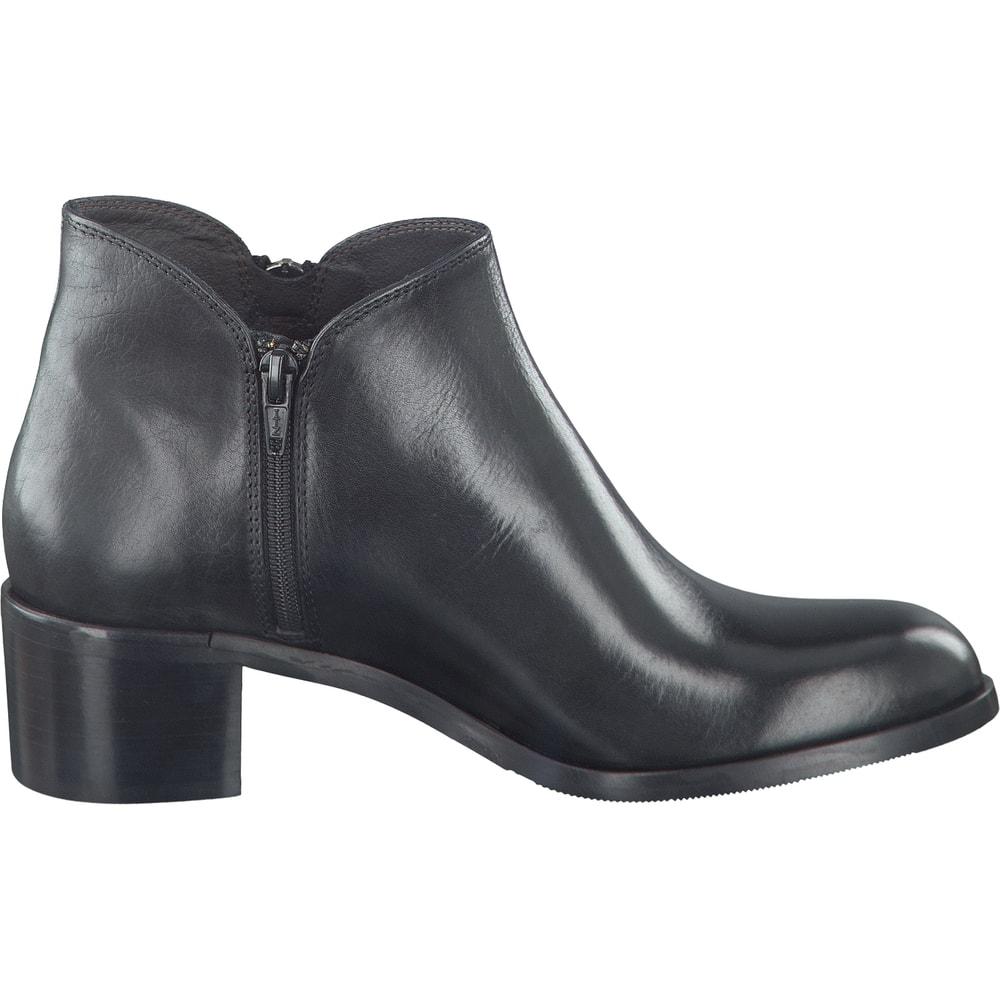m2c ankle boot in schwarz. Black Bedroom Furniture Sets. Home Design Ideas