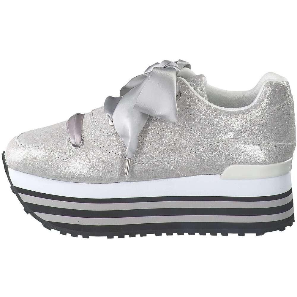 Apepazza Plateau Sneaker silber |